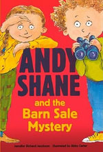 Andy Shane and the Barn Sale Mystery - Jennifer Richard Jacobson