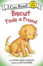 Biscuit Finds a Friend : My First I Can Read Biscuit Level Pre 1 - Alyssa Satin Capucilli