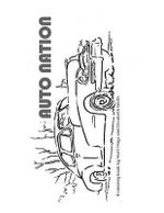 Auto Nation : A Coloring Book - Elizabeth Smith