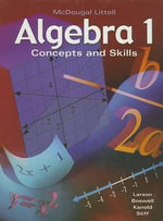 Algebra 1 : Concepts and Skills - Professor Ron Larson
