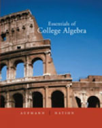 Essentials of College Algebra - Richard N. Aufmann
