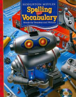 Houghton Mifflin Spelling and Vocabulary : Words for Readers and Writers - Shane Templeton