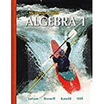 Algebra 1 : Mcdougal Littell High School Math - Professor Ron Larson