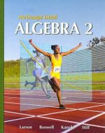 Algebra 2 : Mcdougal Littell High School Math - Professor Ron Larson