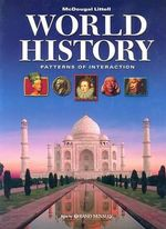 World History: Patterns of Interaction : Atlas by Rand McNally - University Roger B Beck