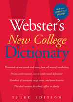 Webster's New College Dictionary - Websters Dictionary