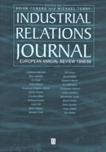 Industrial Relations Journal European Annual Review 1998 : Industrial Relations Journal