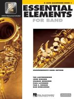 Essential Elements 2000 - Book 1 : Eb Alto Saxophone - Hal Leonard Publishing Corporation