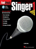 Fasttrack Lead Singer Method - Book 1 [With CD] : Fast Track (Hal Leonard) - Blake Neely