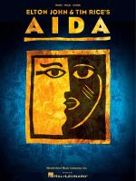 Elton John & Tim Rice : Aida Vocal Selections - Elton John