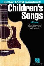 Children's Songs (Guitar Chord : Guitar Chord Songbook - Hal-Leonard Hal-Leonard