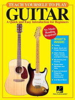 Teach Yourself to Play Guitar : A Quick and Easy Introduction for Beginners - David M Brewster