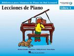 Piano Lessons Book 1 - Book/CD Pack - Spanish Edition : Spanish Edition - Hal Leonard Publishing Corporation