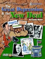 Th Great Depression & the New Deal : I Want to Go to School! - Carole Marsh