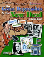 Great Depression & the New Deal Repro Activity Book (He - Carole Marsh