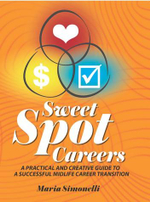 Sweet Spot Careers : A Practical and Creative Guide to a Successful Midlife Career - Maria Simonelli