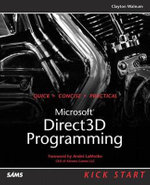 Direct 3D Programming : Kick Start - Clayton Walnum