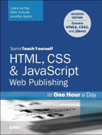 Sams Teach Yourself Web Publishing with HTML5 and CSS3 in One Hour a Day - Laura Lemay