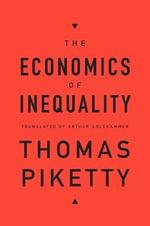 The Economics of Inequality - Professor Thomas Piketty