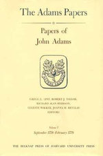 Papers of John Adams : Sept 1778-Feb.1779 v. 7-8 - John Adams