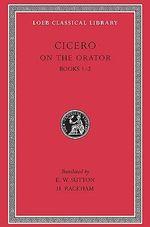 De Oratore : v. 1 - Marcus Tullius Cicero