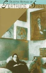 Selected Writings : Vintage - Gertrude Stein
