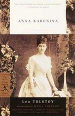 Mod Lib Anna Karenina : Modern Library Classics (Paperback) - Leo Tolstoy