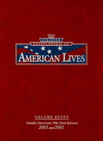 The Scribner Encyclopedia of American Lives : 2003-2005