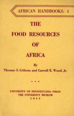 The Food Resources of Africa - Thomas S. Githens
