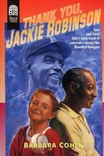 Thank You, Jackie Robinson : An Original Jane Bond Parody - Barbara Cohen