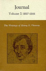 The Writings of Henry David Thoreau: 1837-1844 v. 1 : Journal - Henry David Thoreau