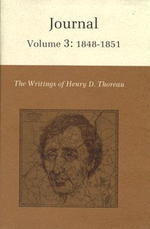 The Writings of Henry David Thoreau: 1848-1851 v. 3 : Journal - Henry David Thoreau