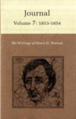 The Writings of Henry David Thoreau: 1853-1854 v. 7 : Journal - Henry David Thoreau