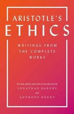 Aristotle's Ethics : Writings from the Complete Works - Aristotle