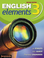 English Elements 3 2e : English Elements Series - Jo Eshuys