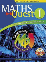 Maths Quest for WA Book 1 : Maths Quest for Western Australia Junior Series - JACARANDA