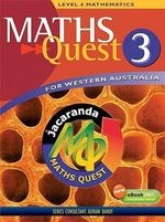 Maths Quest for Western Australia : Book 3 - Jacaranda