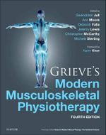 Grieve's Modern Musculoskeletal Physiotherapy : Vertebral Column and Peripheral Joints