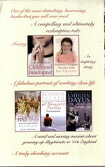 Childhoods Revisited - 5 x Paperbacks in 1 x Pack : An Extraordinary Collection of Memoirs including Childhood Interrupted, Everybody's Daughter Nobody's Child, The Road To Nab End, A Teenager's Journey, The Ghosts of Yesteryear - Kathleen O'Malley