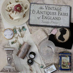 The Vintage and Antiques Fairs of England : A Guide to the Mid-20th Century Design Revival - Sandy Price