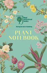 RHS Plant Notebook (Blue) - Royal Horticultural Society