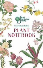 RHS Plant Notebook (White) - Royal Horticultural Society