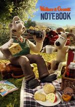 Wallace and Gromit Stencil Notebook - Aardman