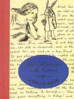 Alice's Adventures under Ground Address Book :  For the Artistically Undiscovered [With Paint Bru... - University of Toronto Press
