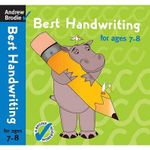 Best Handwriting for Ages 7-8 - Andrew Brodie
