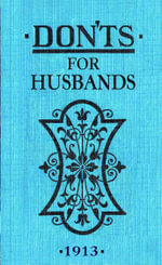 Don'ts for Husbands - Blanche Ebbutt