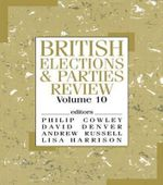 British Elections and Parties Review : v. 10