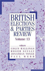 British Elections & Parties Review : v. 13 - Colin Rallings