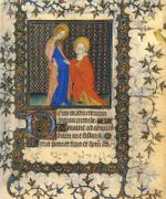 Books of Hours : a miniature edition of some of the most exquisite       medieval manuscripts - Phaidon Press