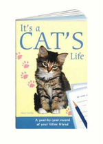 It's a Cat's Life : A Year-by-year Record of Your Feline Friend - Michelle Conray